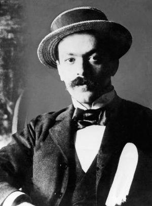 Italo Svevo - Portrait of Svevo