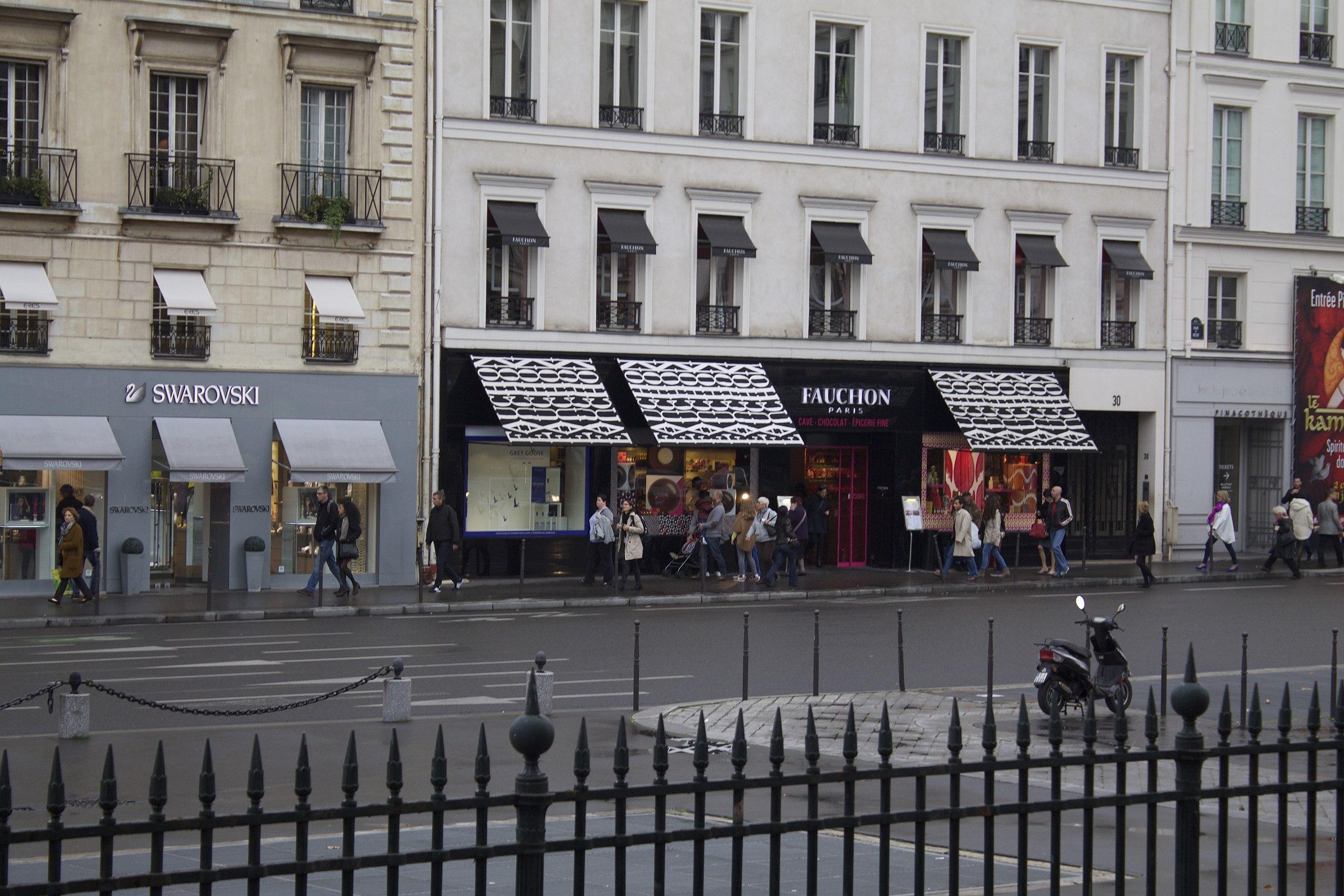 File:Swarovski and Fauchon, Place de la Madeleine, 75008 Paris ...