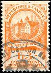 Switzerland Neuchâtel 1921 revenue 1 3Fr - 10D.jpg