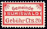 Switzerland Sumiswald 1917 revenue 20c 14.jpg