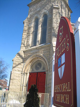 Churches in Sycamore Historic District - St. Peter's Episcopal Church.
