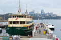 Sydney Ferry the Queenscliff receives routine maintenance at Balmain Shipyard March 2011.jpg