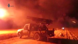 Siege of al-Fu'ah and Kafriya - Image: Syrian opposition bombards al Fu'ah and Kafriya (2016)