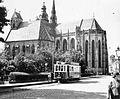 Szent Erzsébet-főszékesegyház (Dóm). Fortepan 6189.jpg