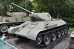 T-34-76 Model 1941 - Central Armed Forces Museum, Moscow (38829236742).jpg