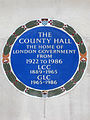 THE COUNTY HALL THE HOME OF LONDON GOVERNMENT FROM 1922 TO 1986 LCC 1889-1965 GLC 1965-1986.jpg