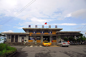Shoufeng - Shoufeng Station on the Hualien–Taitung Line
