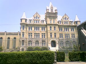 The Last Castle - The castle-like appearance of the former Tennessee State Prison