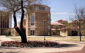 Texas Tech University academics - Southwest Collection/Special Collections Library building