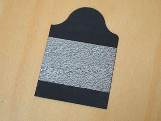 Silver chloride electrode - Tab electrode using silver/silver chloride sensing for electrocardiography (ECG)