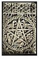 Tafel 049b Spalato - Jupitertempel, Baptisterium -Fragmente vom Taufstein - Heliografie Kowalczyk 1909.jpg
