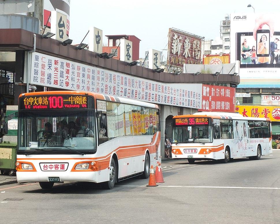 Taichung Bus 337-FX 376-FX 20120909