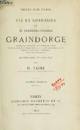 Taine - Notes sur Paris, 1893.djvu