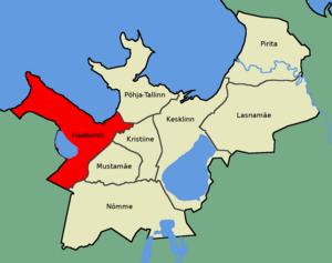 Haabersti - Image: Tallinn haabersti linnaosa leg