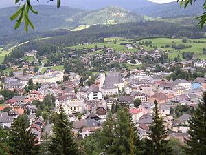 Tamsweg - View from St Leonhard Church