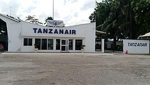 Tanzanair - Airside View of Tanzanair Terminal