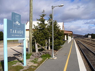 Tarago, New South Wales - Tarago railway station in July 2007
