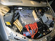 Tata Indica EV Engine bay