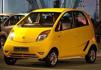 Tata Nano - Image: Tata Nano Yellow