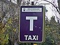 Taxi Rank Sign in Málaga.jpg