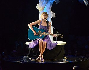 Speak Now - Swift performing on the album's supporting tour