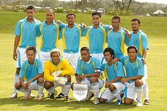 Tuvalu national football team - Tuvalu Team, Pacific Games 2007
