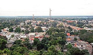 Tekax City in Yucatán, Mexico