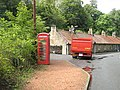 Telephone box, Dura Den - geograph.org.uk - 1447446.jpg