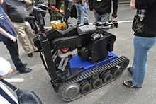 Teodor explosive ordnance disposal and observation robot.JPG