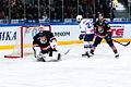 Tereshchenko, Atyushov, Pechursky 2016-01-29 Amur Khabarovsk—Dynamo Moscow KHL-game.jpg