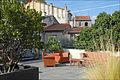 Terrasse dans le patio (Musée dart moderne, Céret) (6249674541).jpg