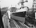 Tewaterlating vrachtschip Artemis door mevrouw dAilly, Bestanddeelnr 906-1559.jpg