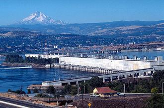 The Dalles Dam - Image: Th Dlls Dam 1