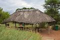 Thatched shelter at Pilanesberg National Park.jpg