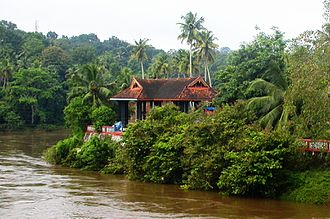 Achankovil - Image: Thazhoor View 1