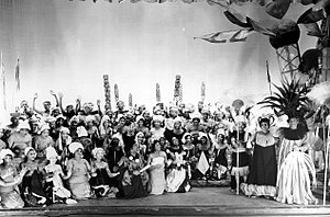 The Swing Mikado - Cast of the original Chicago production (1938)