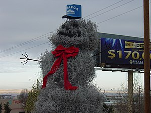 The Big I tumbleweed snowman.jpg
