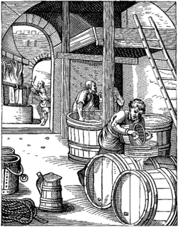 Brewing production of beer