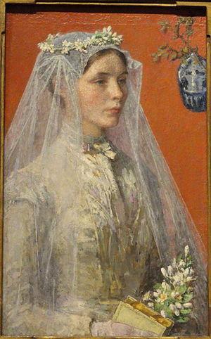 Gari Melchers - Image: The Bride by Gari Melchers Renwick Gallery DSC08384