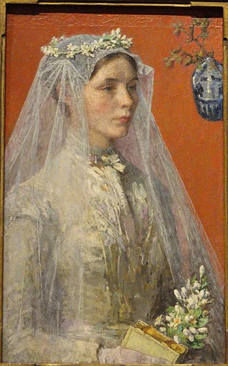 Gari Melchers - Image: The Bride by Gari Melchers Renwick Gallery DSC08384