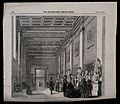 The British Museum; the Roman Saloon, with visitors. Wood en Wellcome V0013523.jpg