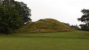 Cambridge Castle - Image: The Cambridge Castle Mound