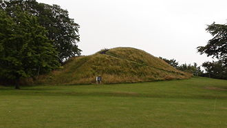 Cambridge Castle - Image: The Cambridge Castle Mound