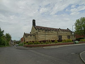 Grade II* listed buildings in South Yorkshire - Image: The Church of St Michael and All Angels (geograph 4486359)