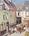 The Courtyard, Hotel Sauvage, Cassel, Nord Art.IWMART2992.jpg