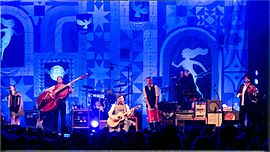 The Decemberists in Redmond (Washington), 2015