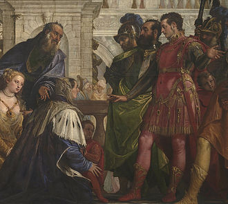 The Prince - A 16th-century Italian impression of the family of Darius III, emperor of Persia, before their conqueror, Alexander the Great. Machiavelli explained that in his time the Near East was again ruled by an empire, the Ottoman Empire, with similar characteristics to that of Darius – seen from the viewpoint of a potential conqueror.