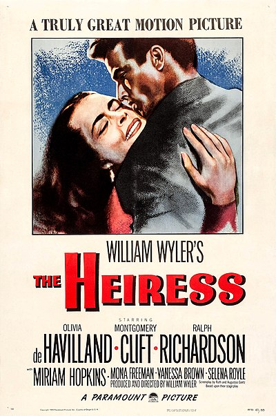 Picture of a movie: The Heiress