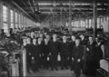 The Honorary Commission of the National Association of Raw Silk Industry of Japan visits main mill of William Skinner and Sons, Holyoke, Massachusetts.png