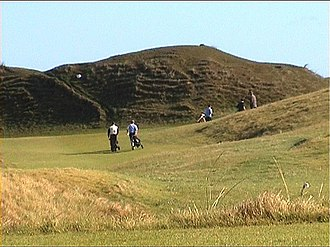 Golf in Ireland - The fourth hole at Lahinch Golf Club